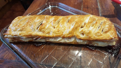 Apple strudel in an hour recipe
