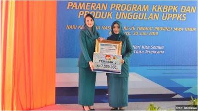 Gresik menyabet juara II Lingkungan Bersih dan Sehat Tingkat Jawa Timur