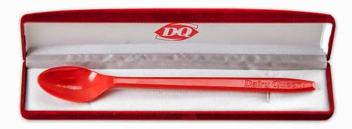 Dairy Queen's Red Velvet Spoon Case.