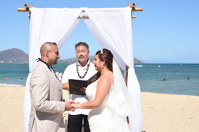 Honolulu Beach Wedding