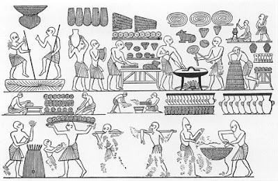 パンは約10,000年から作られてます