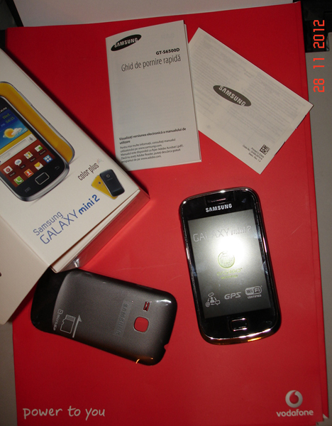 Unpacking Vodafone 2