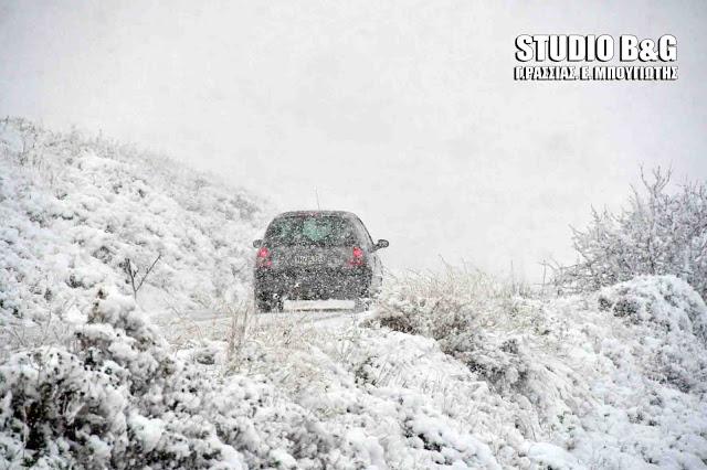 Νέα ψυχρή εισβολή από την Ουκρανία με χιονοπτώσεις σε πολύ χαμηλά υψόμετρα