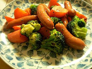 ウインナー 野菜炒め