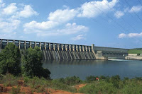The J. Strom Thurmond Dam, built by the U.S. Army Corps of Engineers (Credit: media1.britannica.com) Click to Enlarge.