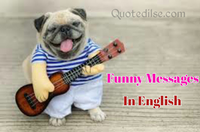 Funny Messages In English
