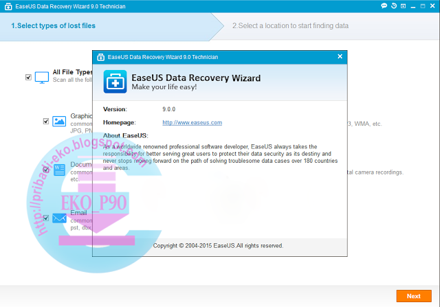 Download easeus data recovery wizard terbaru