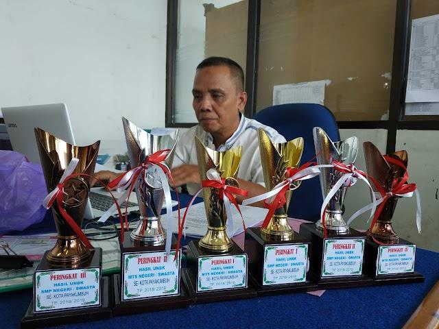 SMP Kota Payakumbuh Raih Nilai UNBK,Peringkat Ke Tiga Di Sumbar