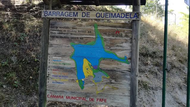 Placa da Barragem de Queimadela