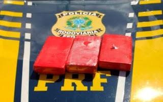 Cocaína avaliada em 350.000 reais é apreendida na Chapada Diamantina
