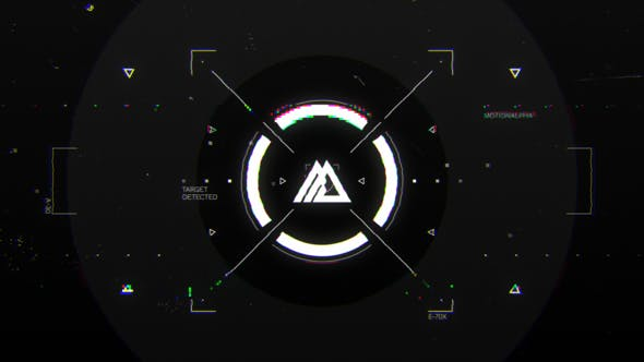 Glitch HUD Logo[Videohive][After Effects][29016689]