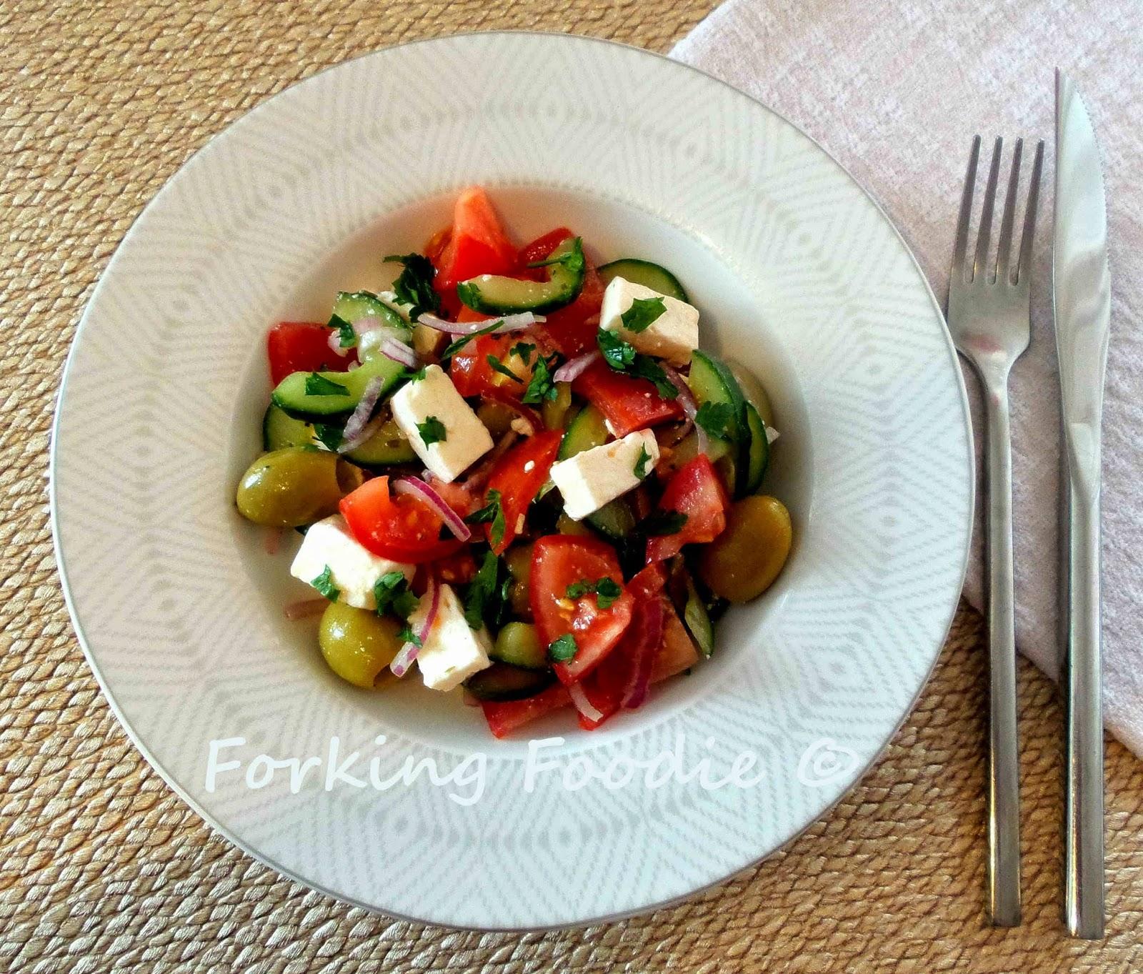 Authentic Greek Salad Recipe