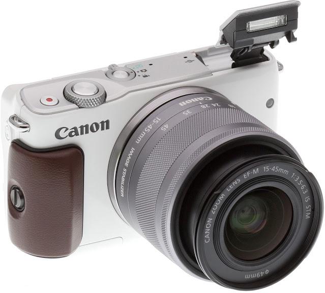 Canon EOS M10 : 18 MP (5-6 Jutaan)