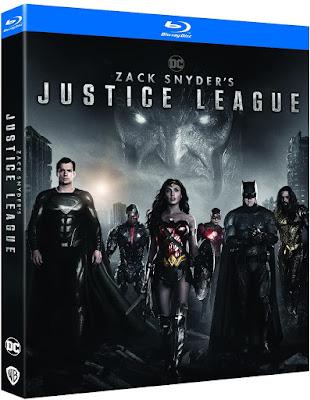 Zack Snyder's Justice League blu-ray CINEBLOGYWOOD