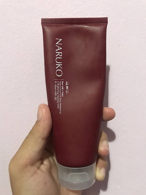 Naruko Raw Job's Tears Supercritical CO2 Pore Minimizing & Brightening Foaming Wash Review