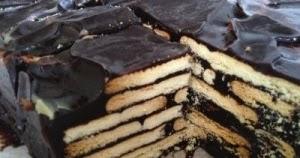Kek Batik Biskut Marie Sedap Dan Mudah Akif Imtiyaz