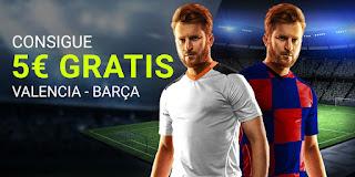 Luckia promocion Valencia vs Barcelona 25 enero 2020