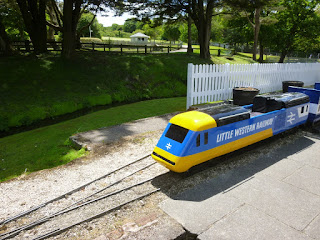 Miniature Railway at Trenance Gardens in Newquay