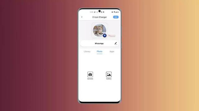 شرح إنشاء أيقونات للتطبيقات باستخدام الصور من معرض الصور الخاص بك