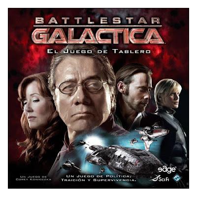 TOYS : JUGUETES - Battlestar Galactica - Juego de mesa Edge Entertainment EDGBG01 | Jugadores: 3-6 | Edad: +10 Comprar en Amazon España