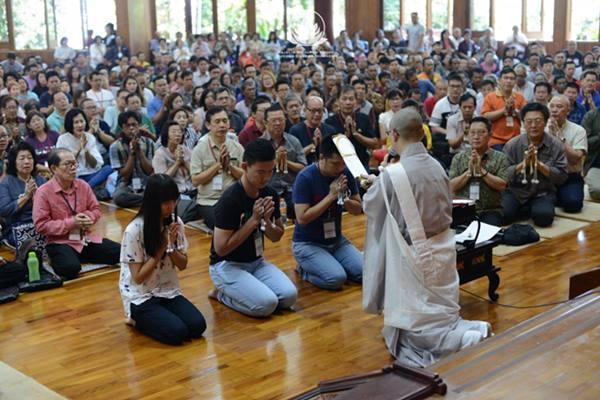 upacara gojukai majelis nichiren shoshu buddha dharma indonesia