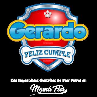 Logo de Paw Patrol: Gerardo