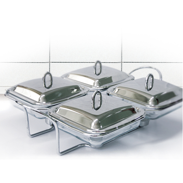 OX-94QSQ Oxone Quart Square Food Warmer
