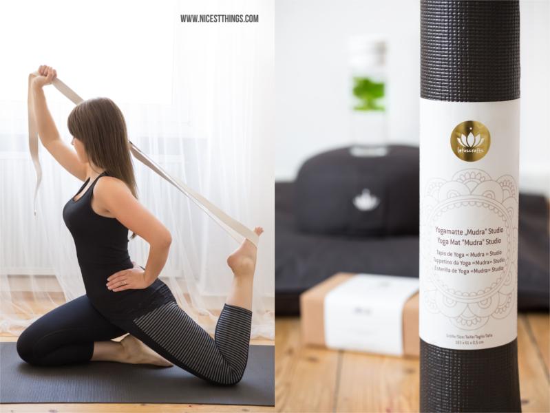 Lotuscrafts Yogagurt Übungen Yogamatte