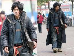 Cheng Guorong gelandangan paling ganteng yang pernah ditemui di jalanan