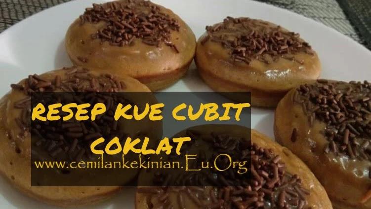 RESEP KUE CUBIT COKLAT