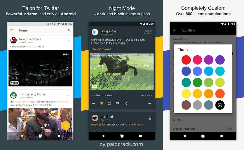 Talon for Twitter Plus Mod Apk 7.8.3 [Paid]