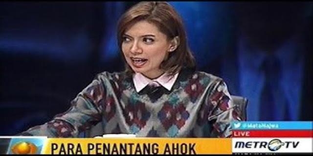 Wow.. Hacker KONSLET Pasang Gambar Wanita Jahat di Website Metro Tv dan Mata Najwa