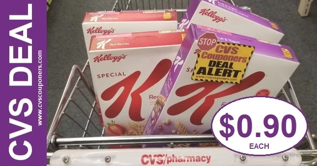Save on Kellogg's Special K Cereal at CVS