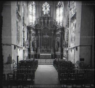 Eglise Saint-Rémi de Dieppe, intérieur