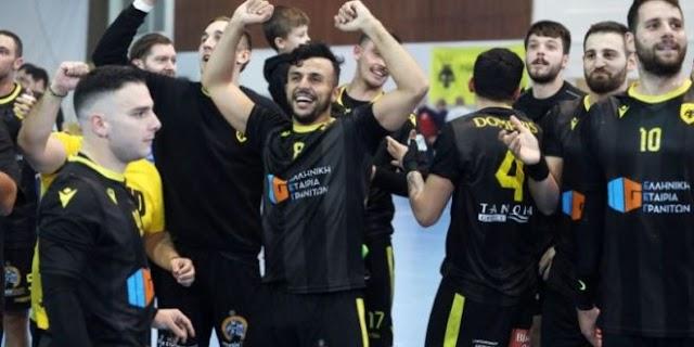 Πρωταθλήτρια η ΑΕΚ στο χάντμπολ