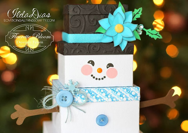 Snowman Gift Box | Ink On 3 Files