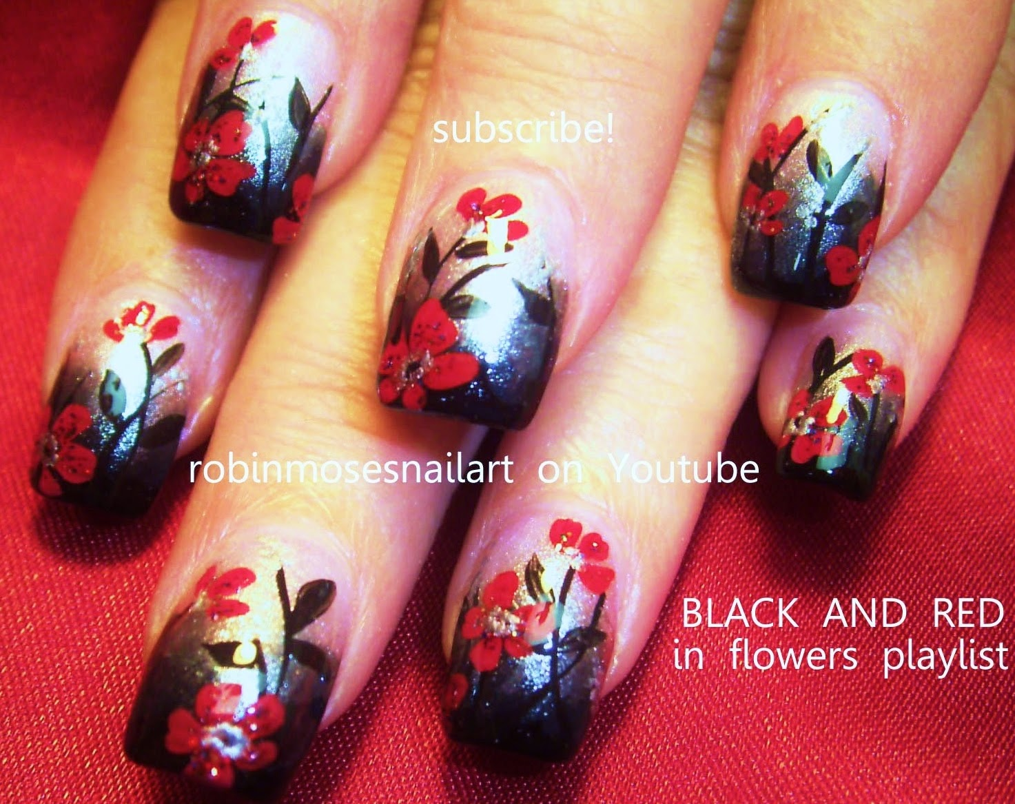 Nail Art By Robin Moses Valentine Nails Valentine Nail Art
