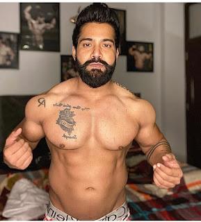 Rajveer Shishodia Tattos