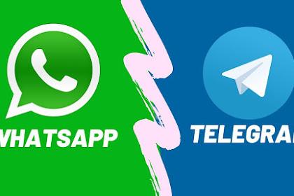 TECHNO NEWS | Perbedaan Telegram dan WhatsApp yang Wajib Anda Ketahui