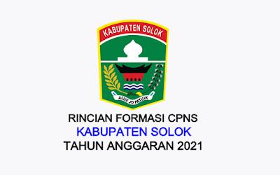 Formasi CPNS Kabupaten Solok Tahun 2021
