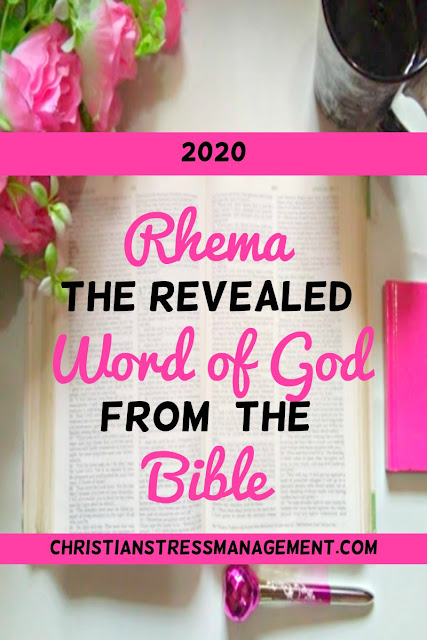 2020 Rhema the revealed Word of God from the Bible