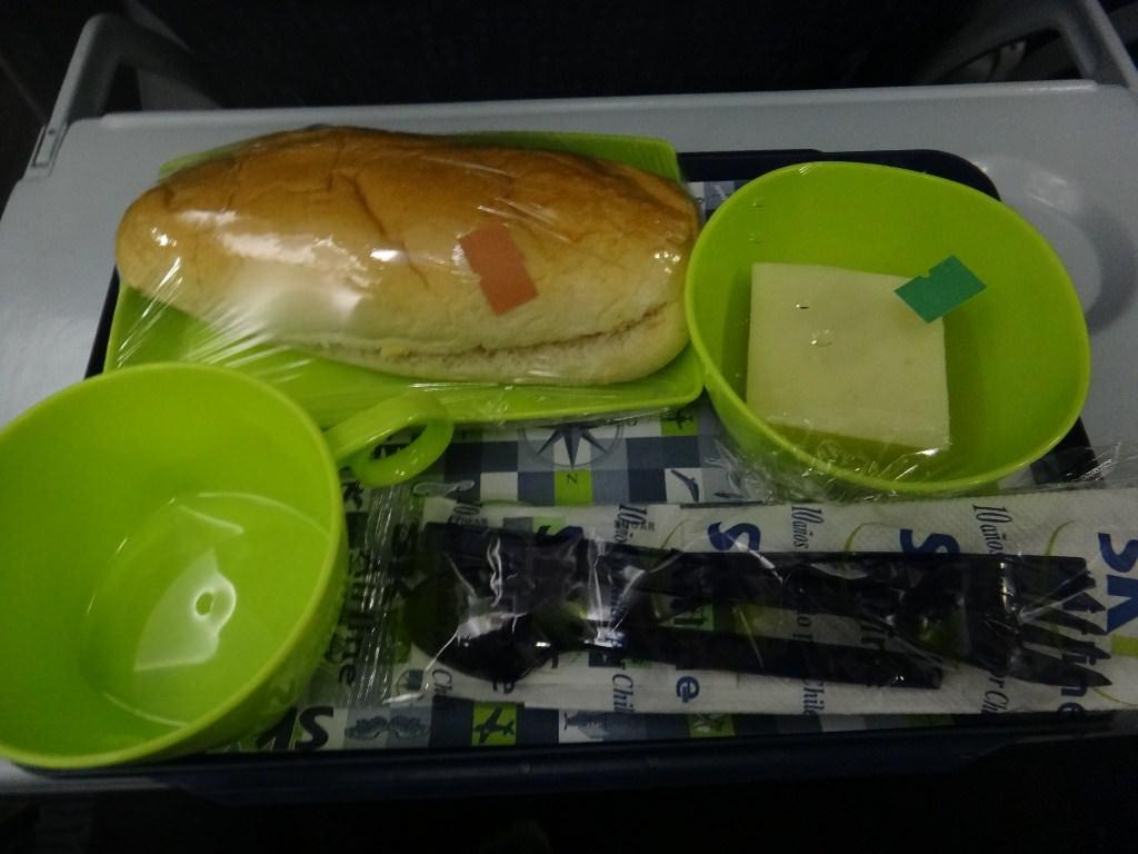 Serviço de bordo Sky Airlines