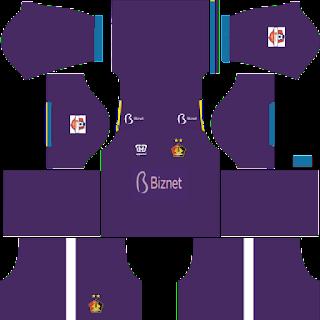 Persik Kediri 2020 - Kit Dream League Soccer 2019