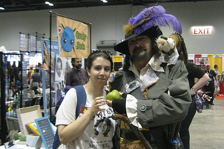 Jim Burch Captain Barbossa Cosplay