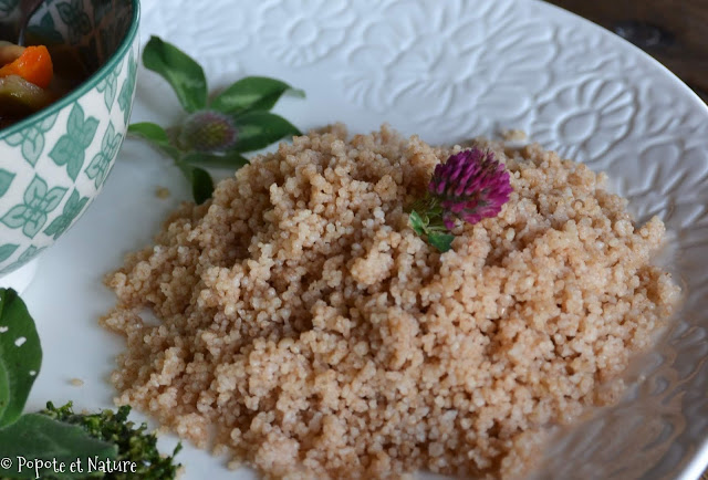 Couscous d'épeautre © Popote et Nature