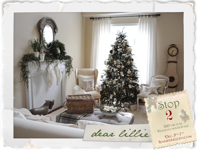 Pleasant Dear Lillie Christmas House Tour 2012 Largest Home Design Picture Inspirations Pitcheantrous