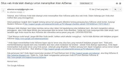 email persetujuan