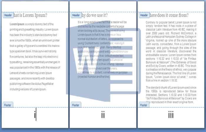 membuat angka romawi pada halaman word