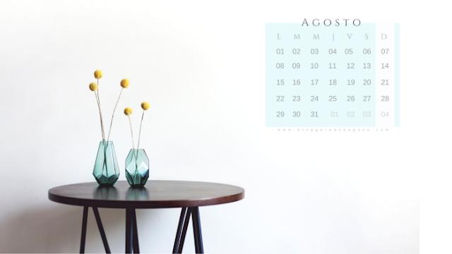 agosto vacaciones blogueras