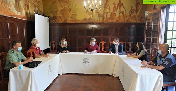 Continúa la coordinación entre administraciones para prevenir el Covid-19 en Los Llanos de Aridane